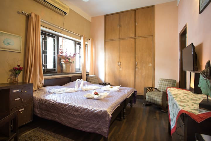 private, attached wellness centre ayurveda yoga - New Delhi - Serviced apartment
