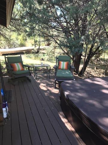 Prescott Log Cabin with rustic charm