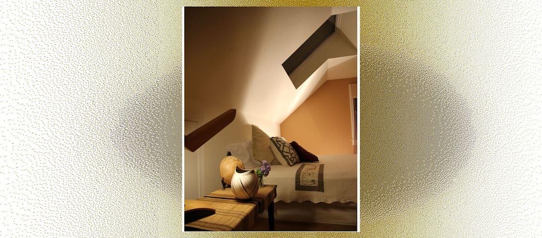 Hip Studio Apartment, Skylights & Moonbeams