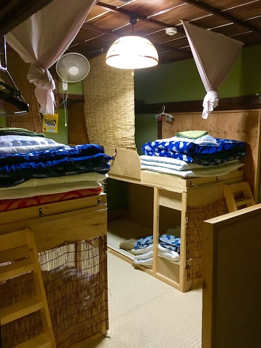 Male dormitory(bank beds) 2F