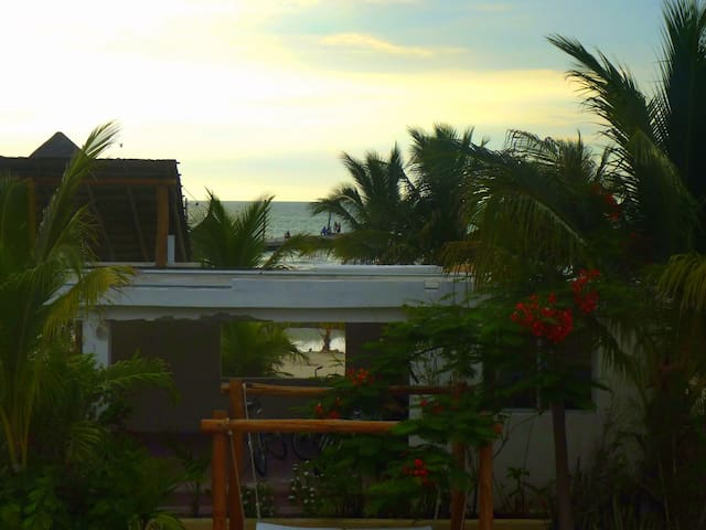 Habitaciones frente al Mar..... - Holbox - Appartement