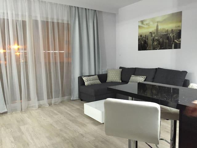 Apartament Autostrada A2 Poznań - Plewiska - Apartamento