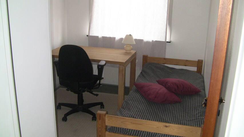 Enkelt værelse nær naturen