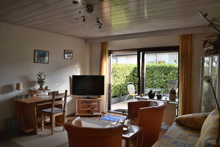Erdgeschosswohnung mit Terrasse - Leimen - อพาร์ทเมนท์