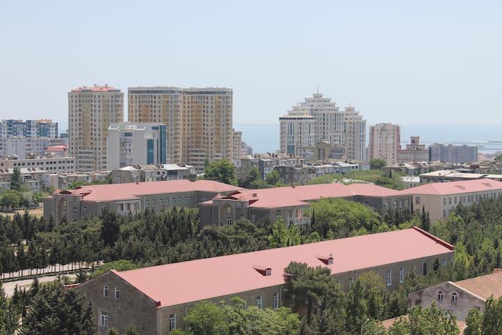 Spacious Apartment full of Sunshine in Baku!