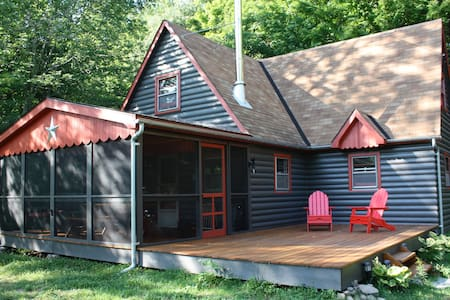 Catskills Mountain Creek Cottage