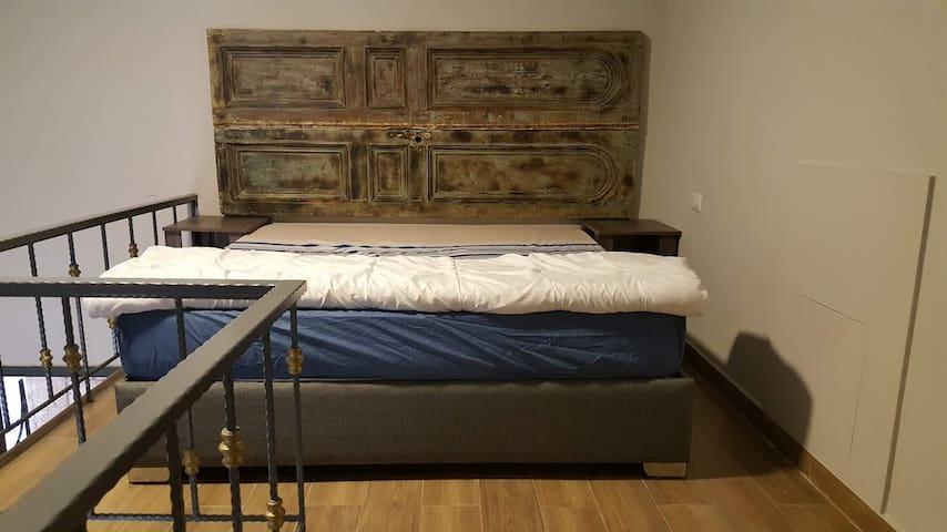 Bedroom, Duplex Apartment