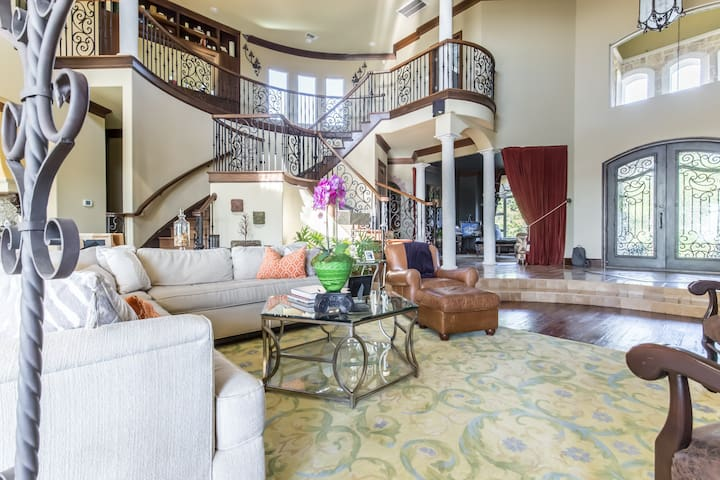 Mini Mansion in Dallas Hill Country - Cedar Hill - House