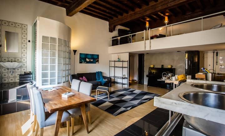 VERBENA Open space su due livelli, Santa Croce