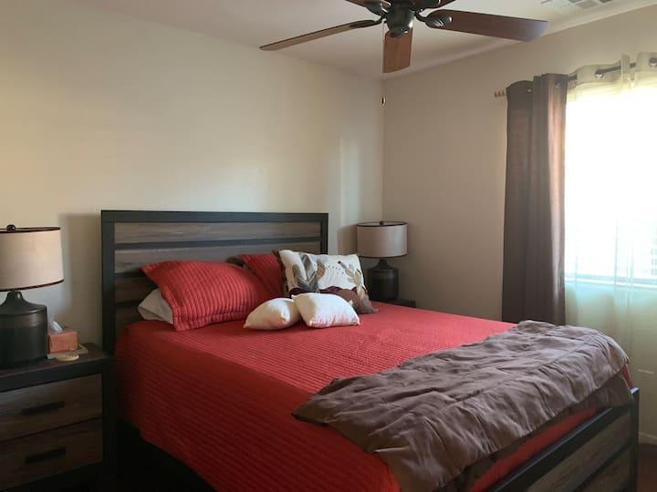 Cozy quarters for desert explorers