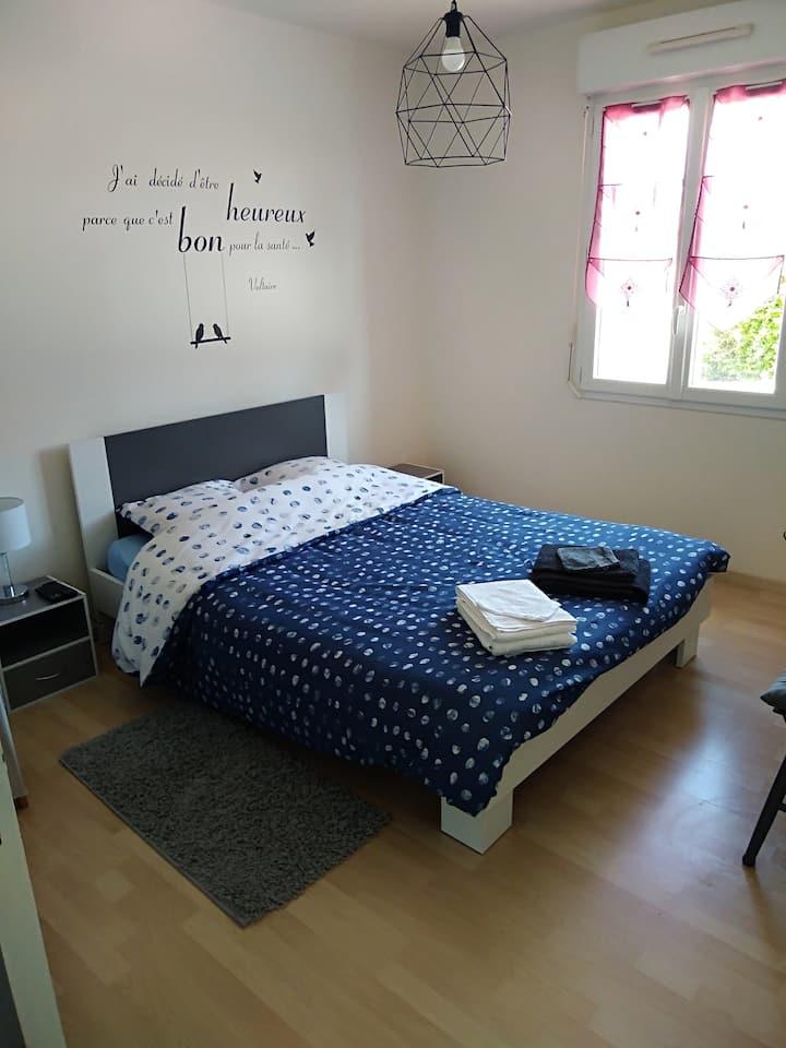 Chambre agréable et au calme