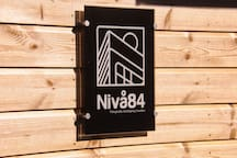 We have named our Loft House; Nivå 84 meaning that it is eighty four meters above lake Vättern.