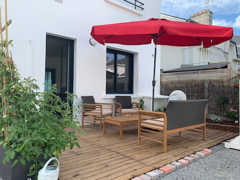 Your rental close to the sea in the heart of Piriac
