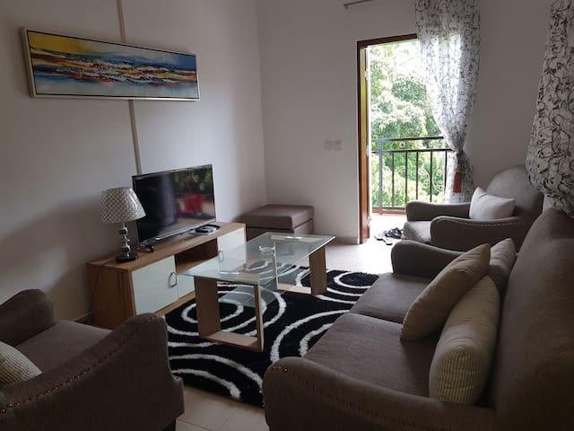 Appartement neuf équipé situé prés de la plage