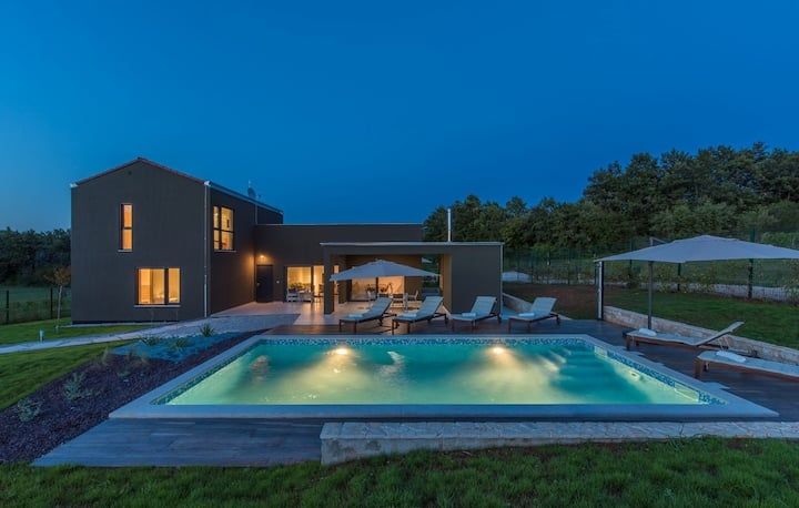 ctis306 - Luxury villa in Istria with private pool, 8+2 people