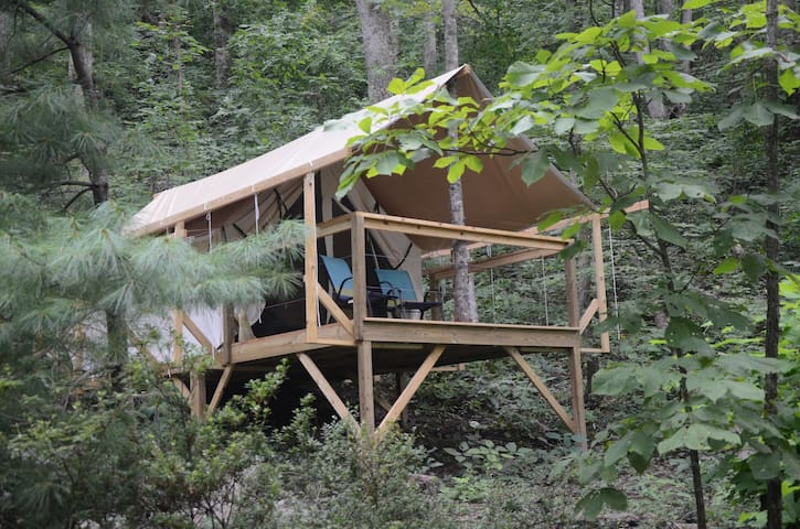 Glamping on the Mountain