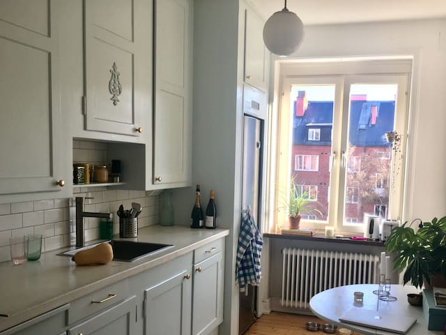 Beautiful apartment in Central Malmö - Malmö - Daire