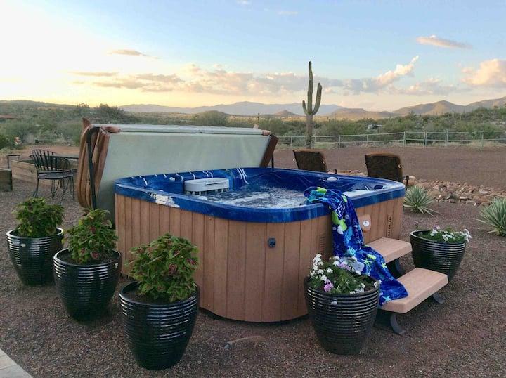 "Mountain View Retreat RV Site ""Mesquite"" ~ Hot Tub"