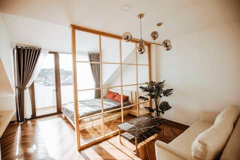 TutaHouse Double Full Furniture-City+Mountain view
