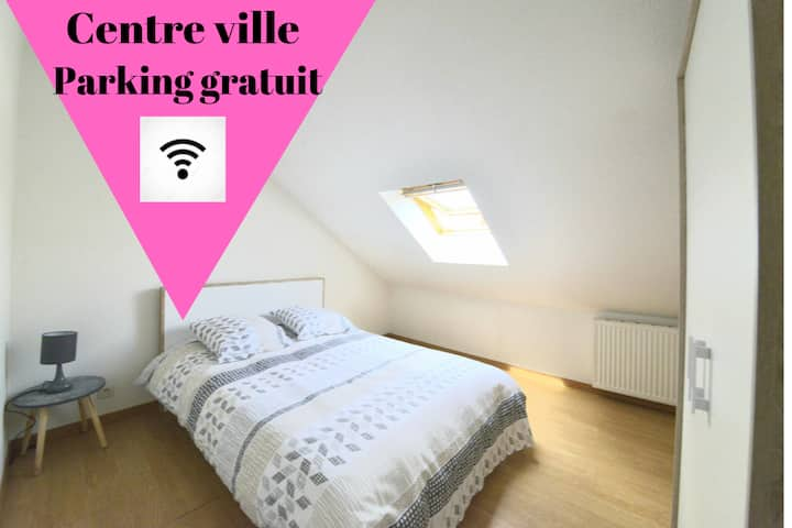 Appartement 2 Charmant Duplex Cosy  centre ville