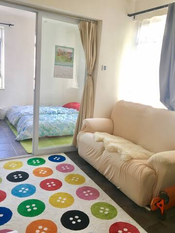 Cute homey studio flat next to MTR - Shatin - Lakás