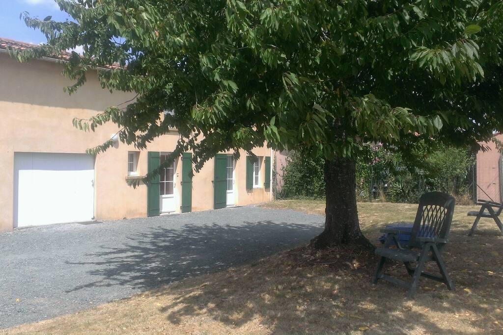 extérieur et facade de la maison