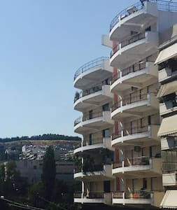 Sunny flat with top view in central Athens - Galatsi - Apartment