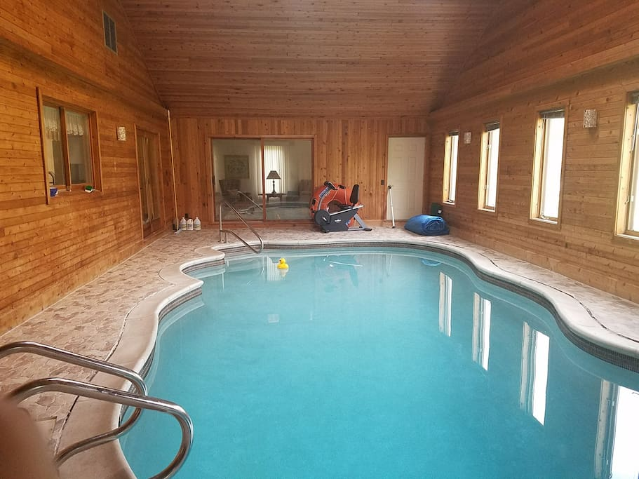 Luxury Home Indoor Pool Fabulous Location Houses For Rent In Milford Charter Township
