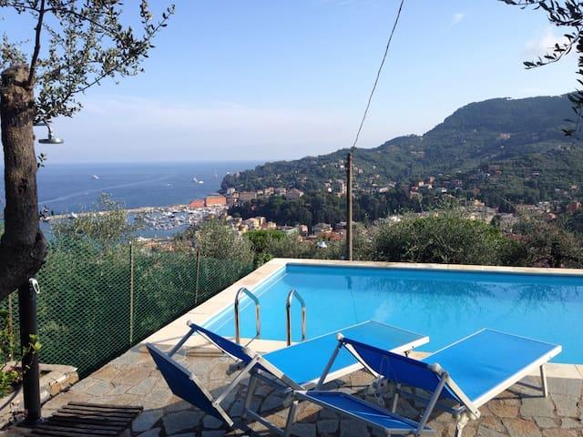 Villa di charme con piscina privata - Santa Margherita Ligure - Villa
