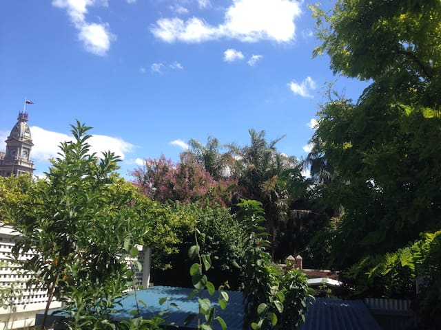 View of Fitzroy from the back deck