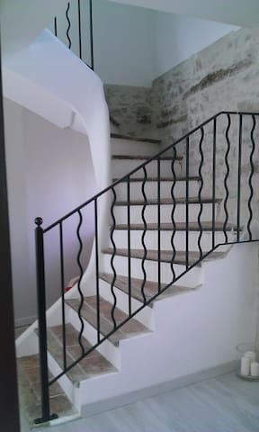 First floor staircase