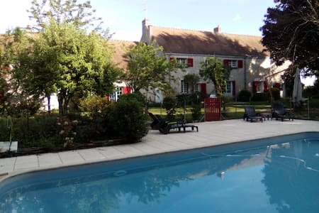 Charming vacation rental with pool/ Chambord