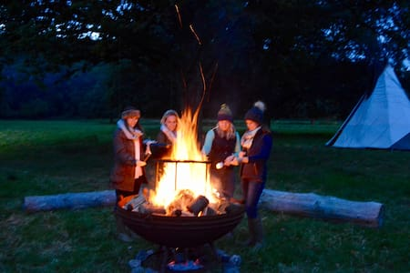 Tipi Adventure in the Wye Valley - Ross-on-Wye