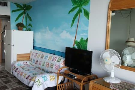 Oceanfront condo with lanai - Hilo