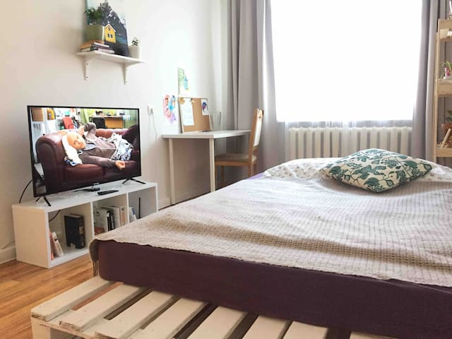Cozy green apartment in Sortavala city