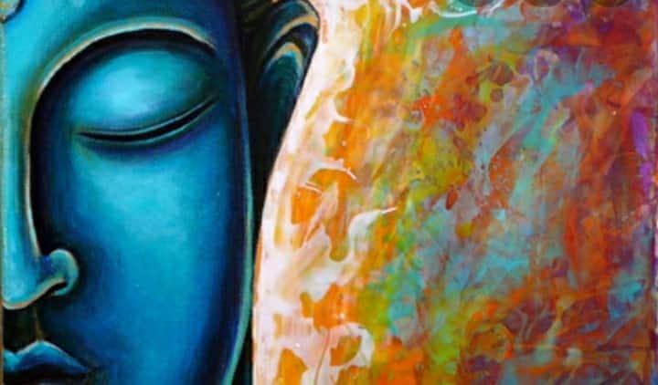 Blue Buddha Suite w/ Tiki Bar  & Sip n Paint