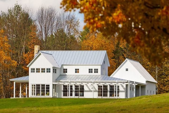 Modern Farmhouse on 25 Acres - Superb Views