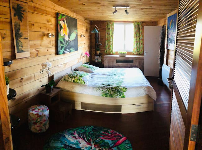 Chambre 1 lit 180x190 séparable en 2 lit de 90x190