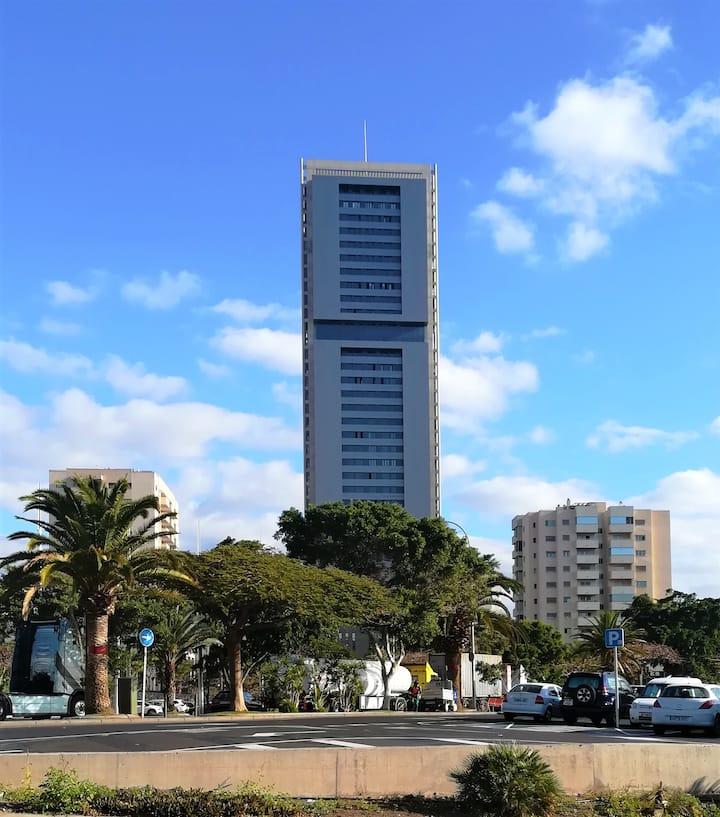 Studio Vista Torre - City, Strände, Atlantik