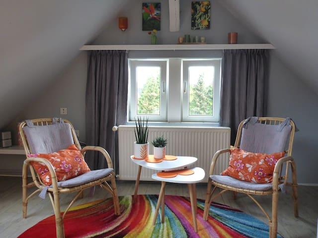 Zimmer mit Einzelbett