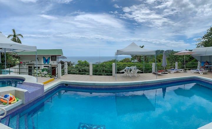 Ocean View Apartament- 2rooms- 2bathrooms-A/C-Pool