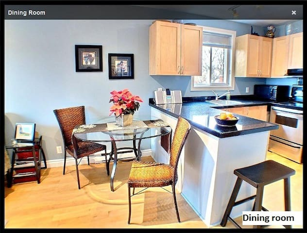 Furnished-Stylish-Top Floor-Sun Filled 1 BR Condo