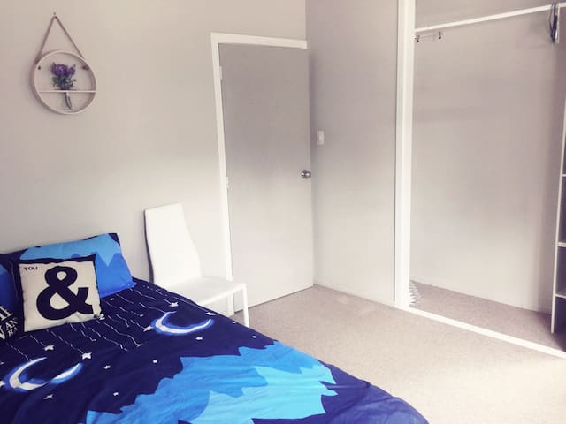 Spacious double bedroom with guests' own toilet