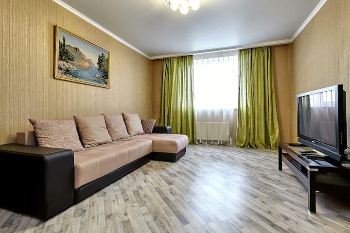 Двухкомнатные апартаменты около стадиона Краснодар