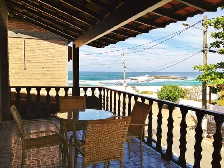 Pousada Terral, com vista para o mar de Itaúna.