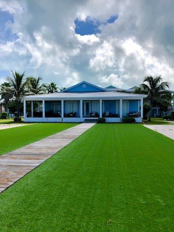 Luxury ocean front home at Bimini Bay Resort