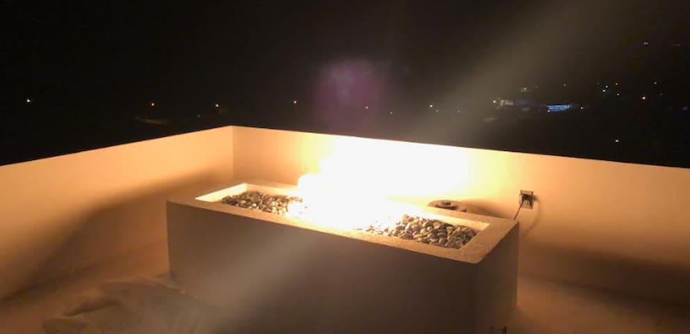 Bar Fire Pit