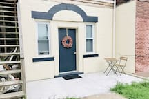 Private Studio Apartment located in multi-unit home in East Liberty. Private entry located on the left side of the house off of the driveway.