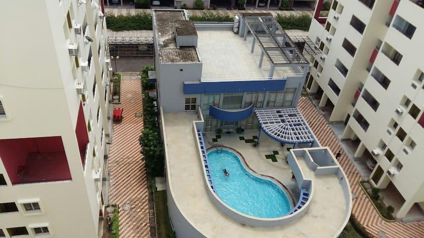 3Bhk Pent Hs @Citycnt 2 Rajarhat - Калькутта - Квартира