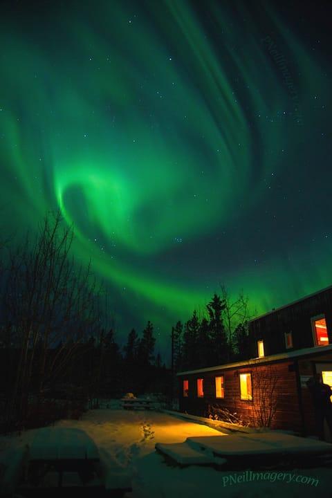 Escape to see northern lights at Sundog Retreat
